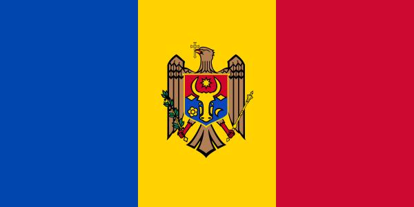 Tafelvlaggen Moldavië 10x15cm | Moldavische tafelvlag