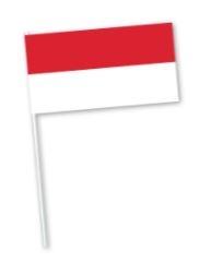 Indonesische zwaaivlag van Indonesie