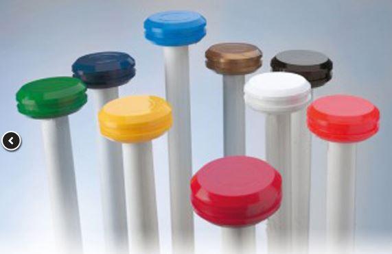Meerprijs optie marineblauw knop in plaats van standaard Oranje knop
