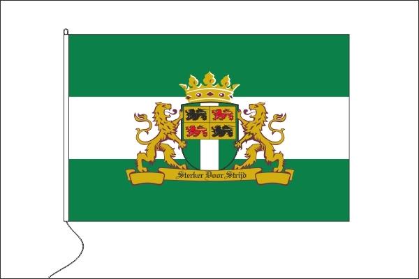 Vlag Rotterdam Sterker door Strijd 20x30cm