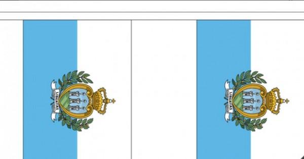 Vlaggenlijn San Marino - 3 meter