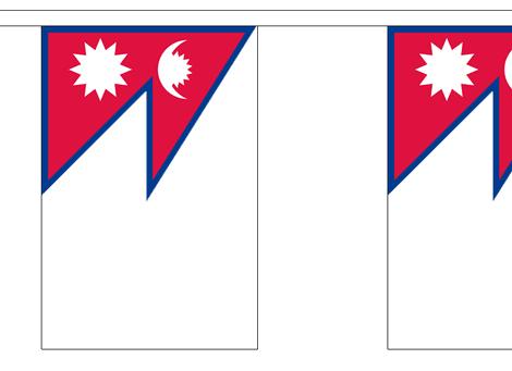 Vlaggenlijn Nepal 3m