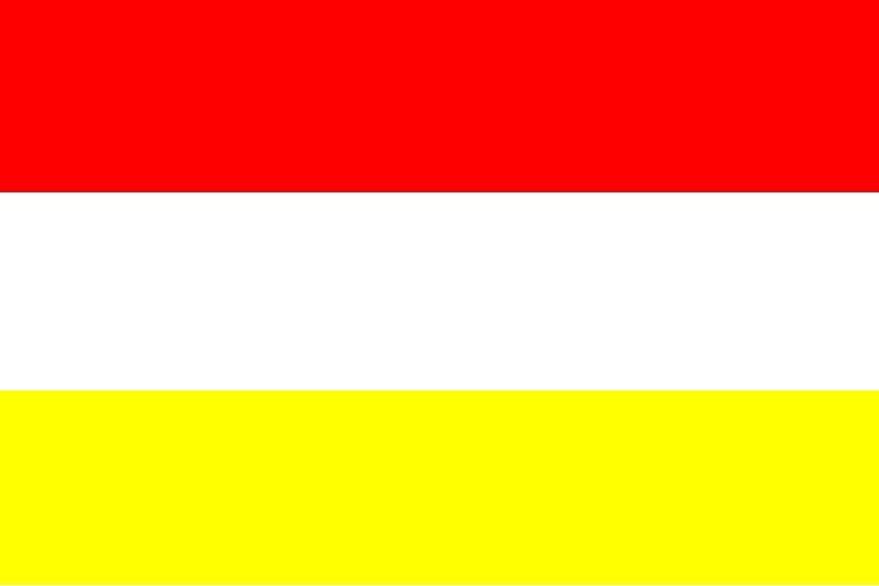 Oeteldonkse vlag 150x225cm voor in iedere vlaggenmast