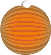 Oranje lampion voor ieder EK WK Koninginnedag feestje