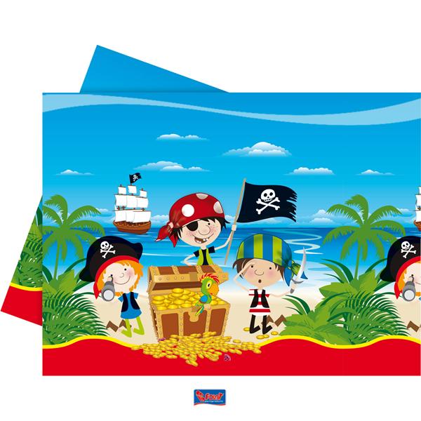 Little Pirates tafelkleed kinderfeestje Piraten