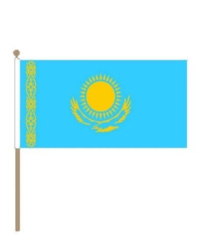 Zwaaivlag Kazachstan 30x45cm