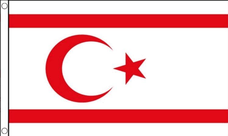 Noord Cyprus vlag vlaggen Noord Cyprus 90x150cm Best Value