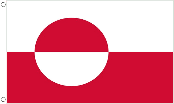 Vlag Groenland 60x90cm