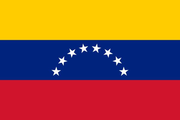 tafelvlaggen Venezuela 10x15cm | Venezolaanse tafelvlag