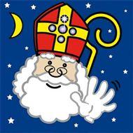 Sinterklaas servetten vlaggenclub