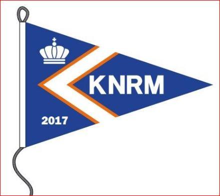 KNRM vlag 35x50cm jaarwimpel 2017 kopen bij Vlaggenclub