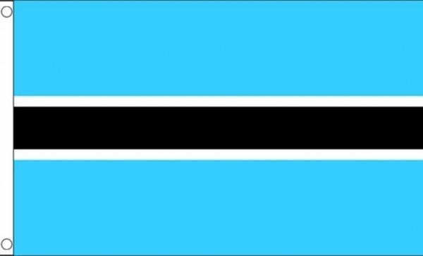 Vlag Botswana 60x90cm