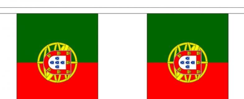Vlaggenlijn Portugal Portugeese vlaggenlijn 3m