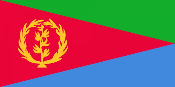 Tafelvlaggen Eritrea 10x15cm | Eritreese tafelvlag