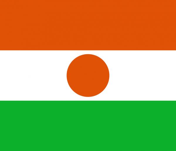 Vlag Niger 100x150cm Glanspoly