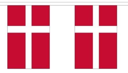 Vlaggenlijn Denemarken 3m