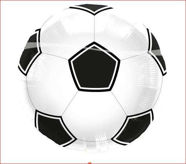 Grote voetbal ballon helium kopen bij Vlaggenclub