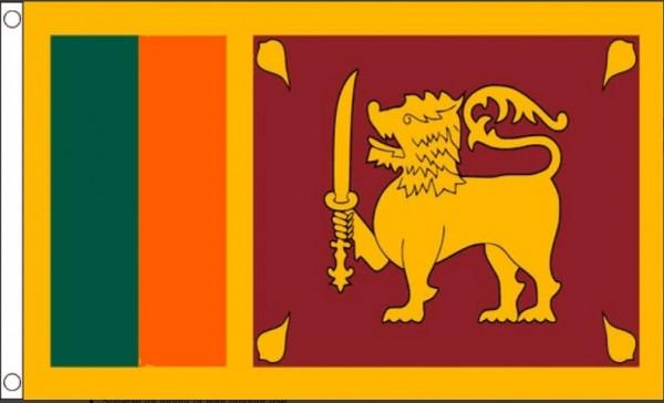 Vlag Sri Lanka 90x150cm