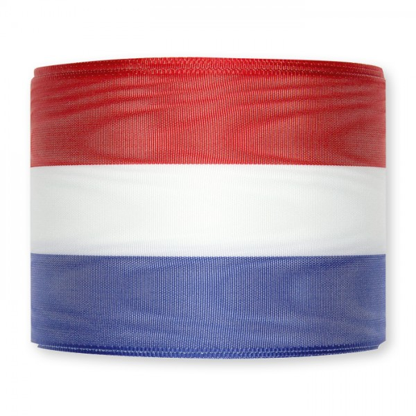 Sjerp lint rood wit blauw 11cm breed kopen per meter