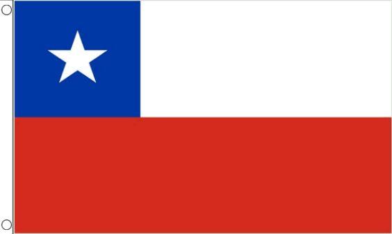 vlag Chili | Chileense vlaggen 150x240cm Best Value