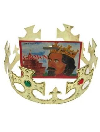 Gouden kroon met Robijnen