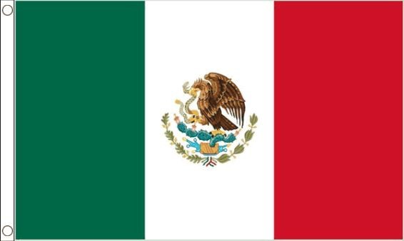 vlag Mexico | Mexicaanse vlaggen 90x150cm Best Value