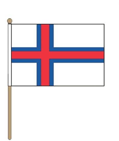 Zwaaivlag Faeröer Eilanden Faroer 30x45cm
