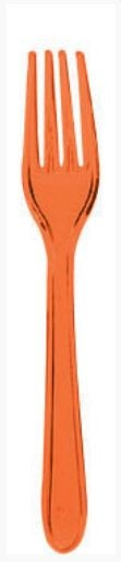 Messen Oranje Bestek 10 stuks