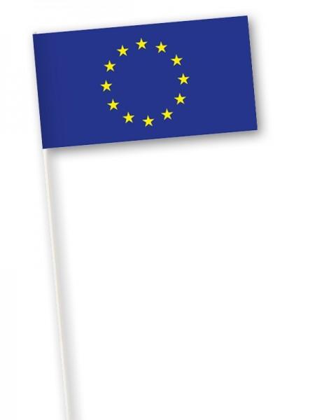 Zwaaivlag Europese Unie EU vlaggen 11x21cm