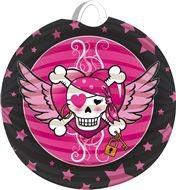 Pirate Girl lampion kinderfeestje Vlaggenclub
