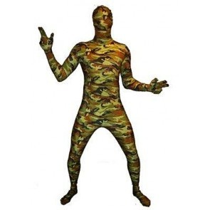 Skinsuit army maat L/XL