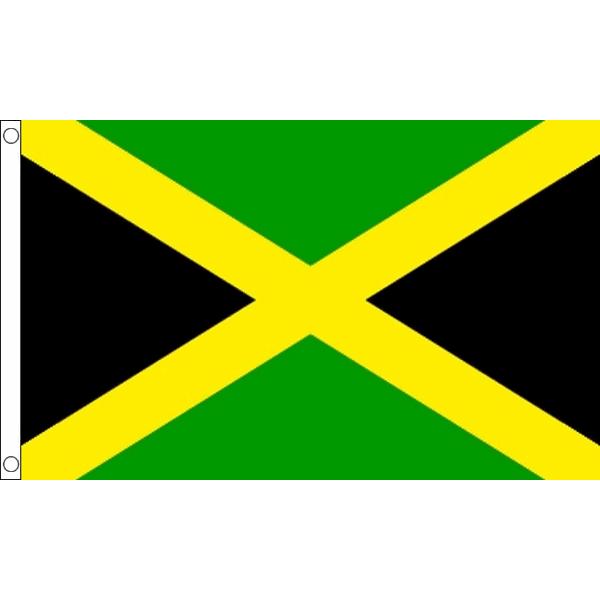 Vlag Jamaica | Jamaicaanse vlaggen 90x150cm