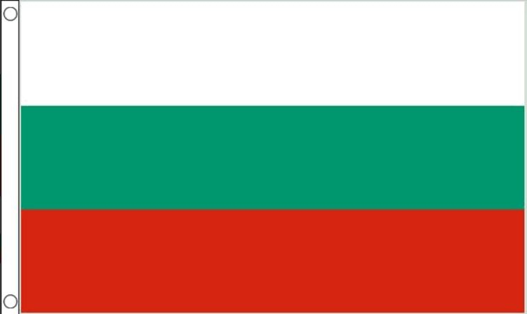 vlag Bulgarije 90x150cm Best Value