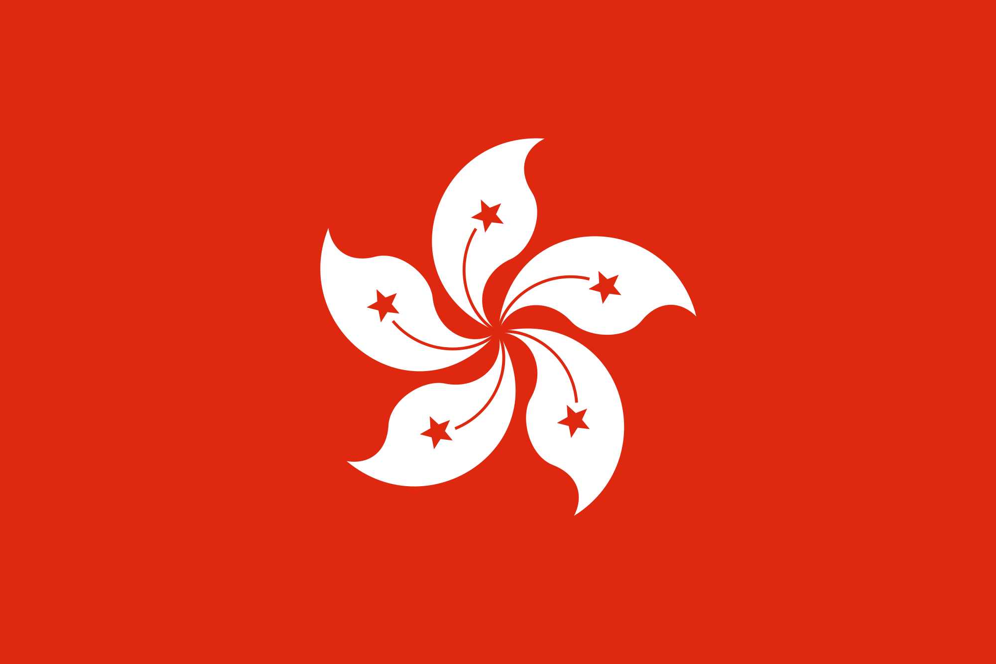 Vlag Hongkong 60x90cm Best Value