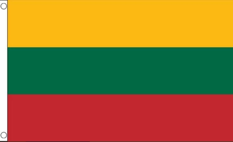 Vlag Litouwen, Litouwse vlag 90x150cm Best Value