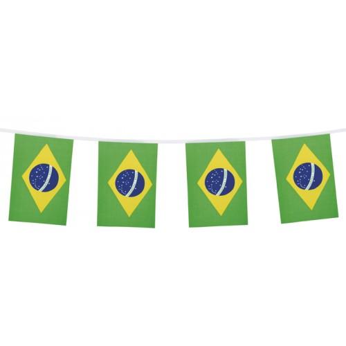 Vlaggenlijn Brazilie Braziliaanse vlaggenlijnen 3m