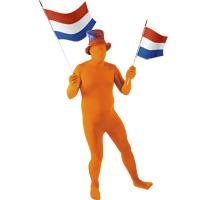 Oranje pak skin suit