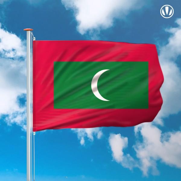 Mastvlag Malediven