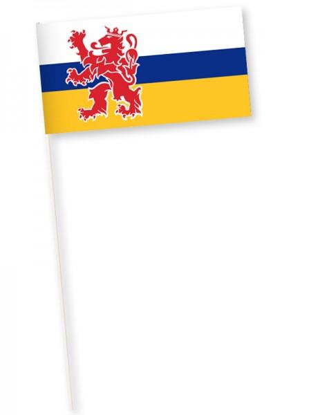 Zwaaivlag provincie Limburg 11x21cm