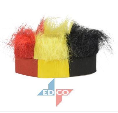 Hoofdbandpruik België, fanartikel