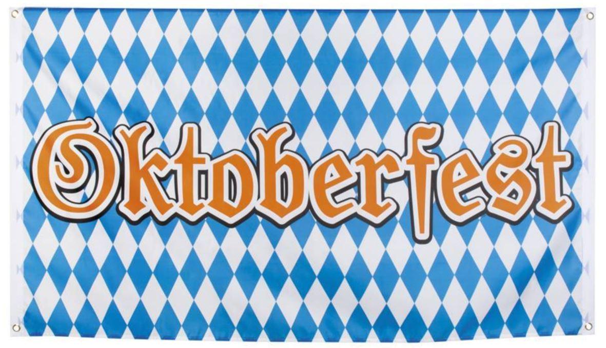 Vlag Oktoberfest banier 90x150cm
