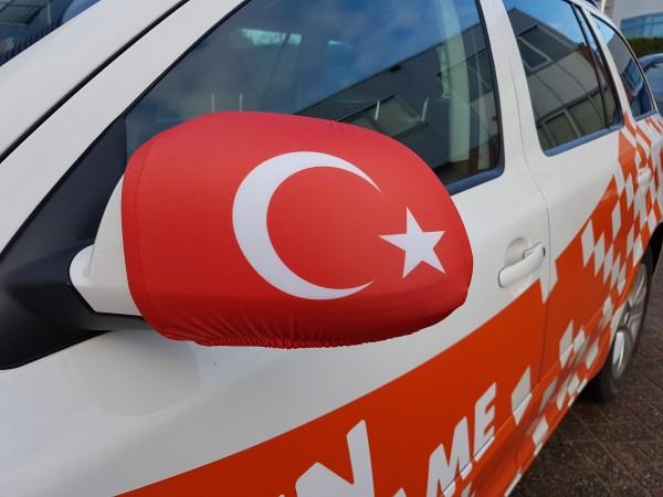 Autospiegel hoes Turkije   2 stuks