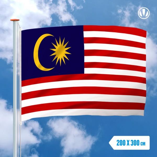 Grote Mastvlag Maleisie