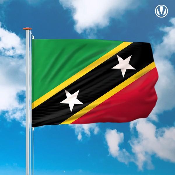 Mastvlag Saint Kitts en Nevis