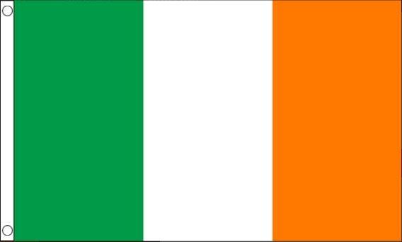 Ierse vlag Ierland Vlaggenclub 90x150cm Best Value