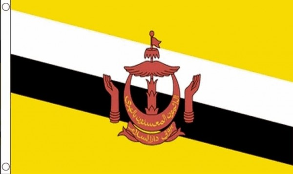 Vlag Brunei 60x90cm