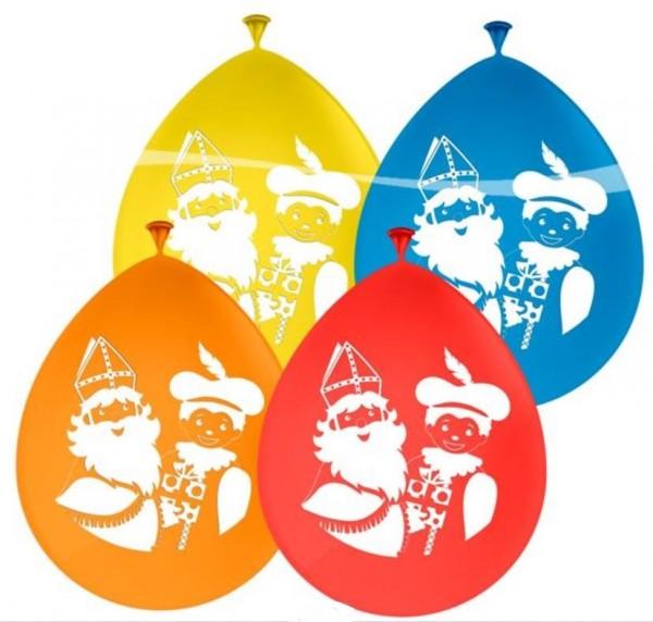 vier-kleuren-ballonnen-sinterklaas-pieten