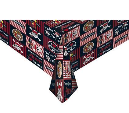 Tafelkleed I Love Pirates 120x180cm