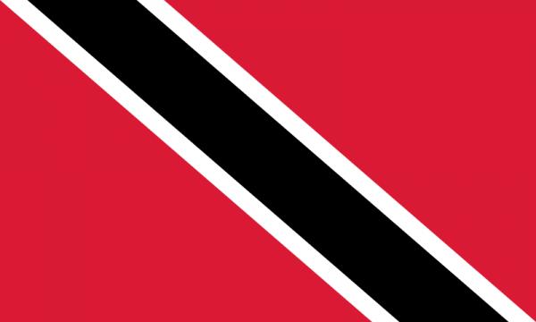 Vlag Trinidad en Tobago 100x150cm Glanspoly