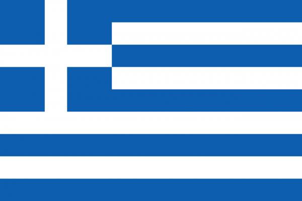 Vlag Griekenland 100x150cm Glanspoly